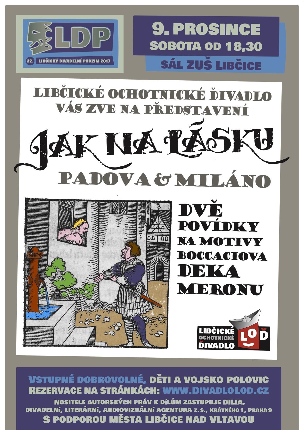 LDP 2017: Jak na lásku - Padova a Miláno