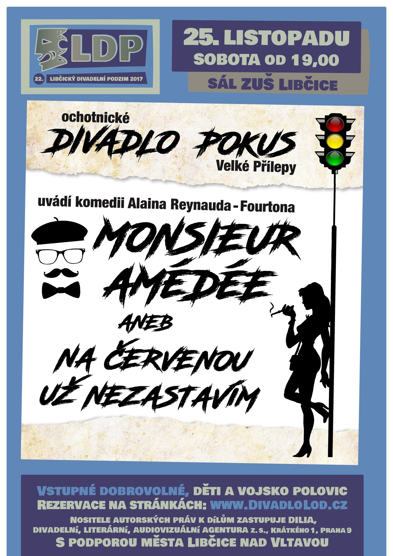 LDP 2017: Monsieur Amédée
