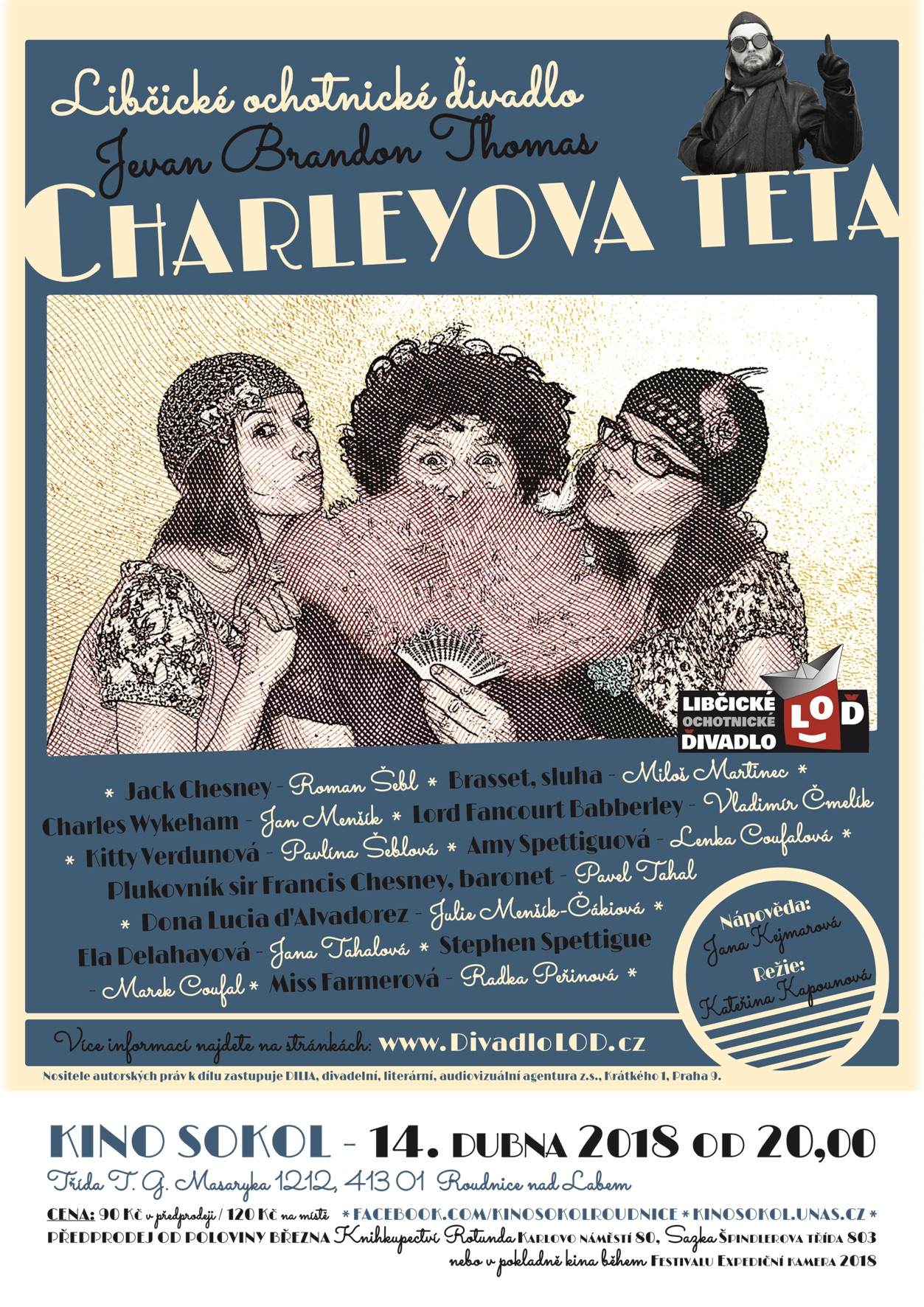 CHT plakát Roudnice 2018